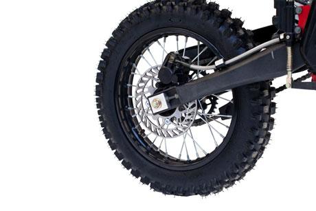 4-х тактный мотоцикл Irbis TTR 125 с объемом 125...  Тормоза передние/задние.